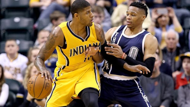 Paul George traded to the Oklahoma City Thunder--IMAGE