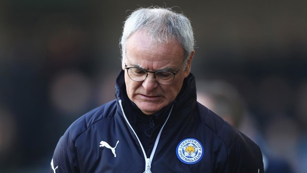 Leicester City fires manager Claudio Ranieri - IMAGE