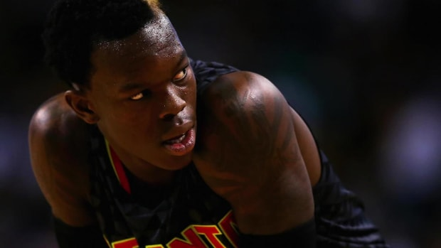 Hawks' Dennis Schröder Arrested for Misdemeanor Battery - IMAGE