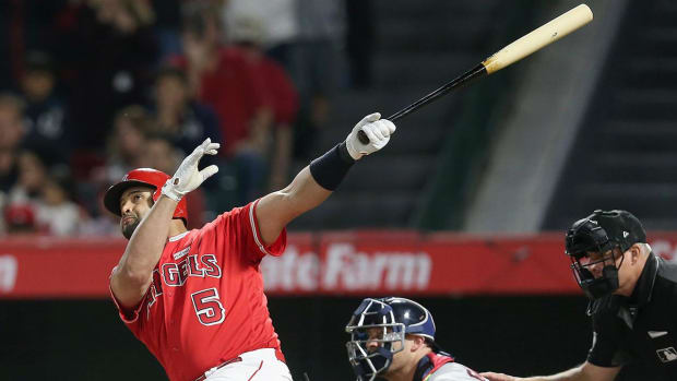 Albert Pujols joins the 600 home run club--IMAGE