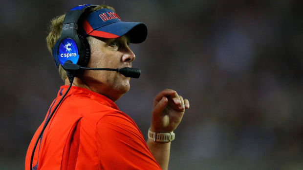 Report: Hugh Freeze's Calls to Escort Services Lined Up With Recruiting Trips - IMAGE