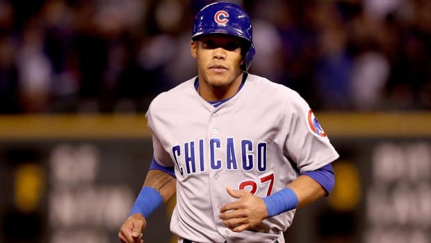 Addison Russell's wife files for divorce, won't talk to MLB - IMAGE