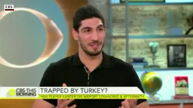 Enes Kanter back in U.S., wants to become a citizen--IMAGE