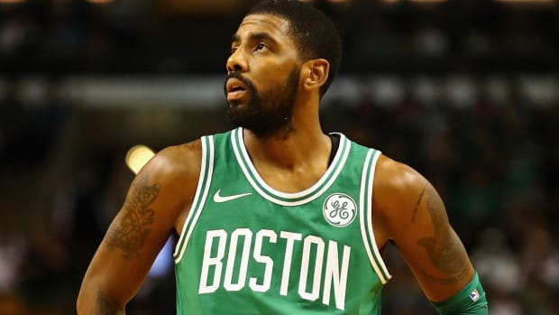 Kyrie Irving Diagnosed With Minor Facial Fracture, Doubtful for Sunday--IMAGE