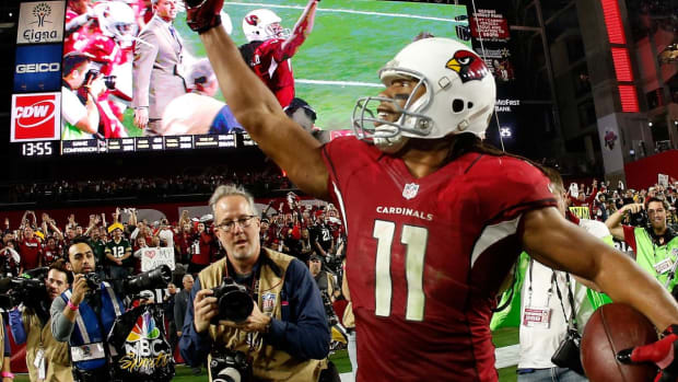 Larry Fitzgerald Signs One-Year Deal with Cardinals for 2018 Season - IMAGE