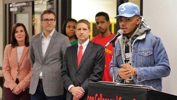 Chicago Bulls join Chance the Rapper, pledge $1 million to Chicago Public Schools--IMAGE