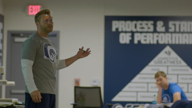 24 Hours … with Sean McVay -- IMG