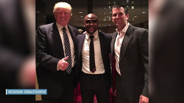 Floyd Mayweather says he's attending Donald Trump's inauguration - IMAGE