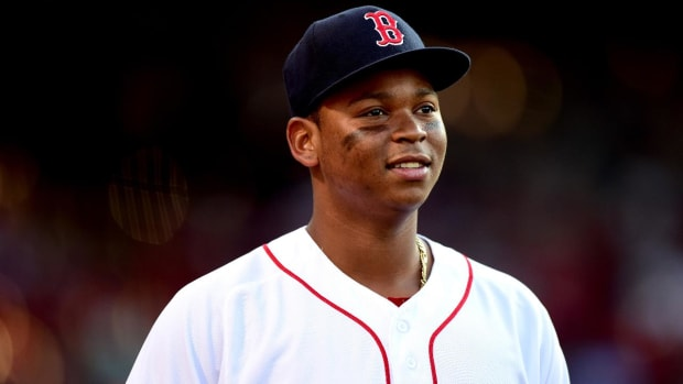 Red Sox Rookie Rafael Devers Is On a Historic Pace - IMAGE