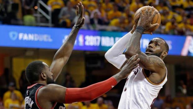 LeBron James passes Kareem Abdul-Jabbar for No. 2 in playoff scoring, next up Michael Jordan JAMES