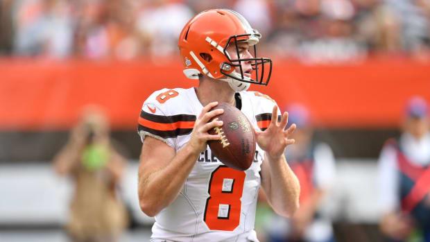 Browns Name Kevin Hogan Starting Quarterback - IMAGE