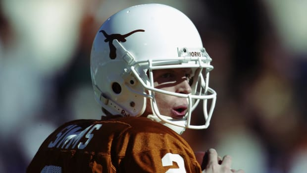 Chris Simms Says He Was Paid by Boosters at Texas--IMAGE