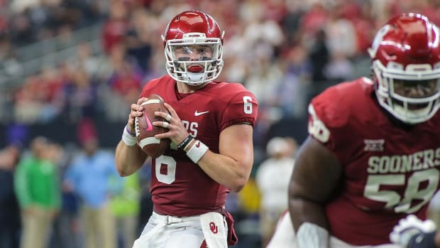 Baker Mayfield, Bryce Love, Lamar Jackson Named Heisman Finalists--IMAGE