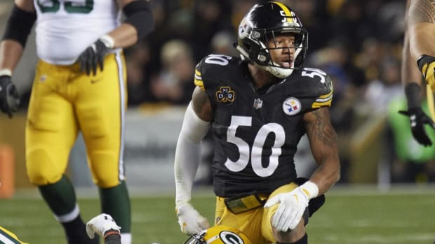 Steelers Place Linebacker Ryan Shazier On Injured Reserve - IMAGE