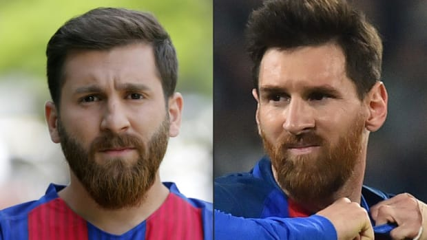 Lionel Messi has doppelgänger in Iran-IMAGE