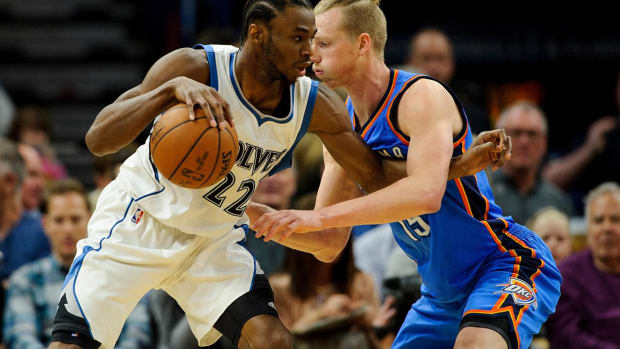 Timberwolves working on Andrew Wiggins extension - IMAGE