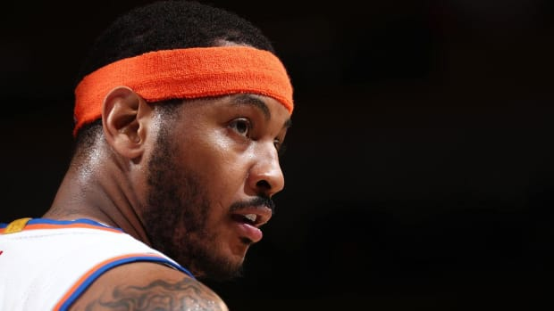 Report: Carmelo Anthony Traded to OKC for Kanter, McDermott And Draft Pick--IMAGE