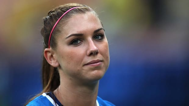 Report: USWNT Star Alex Morgan Among Group Kicked Out of Disney World--IMAGE