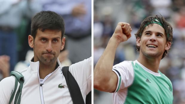 Novak Djokovic stunned by Dominic Thiem in French Open quarterfinals - IMAGE