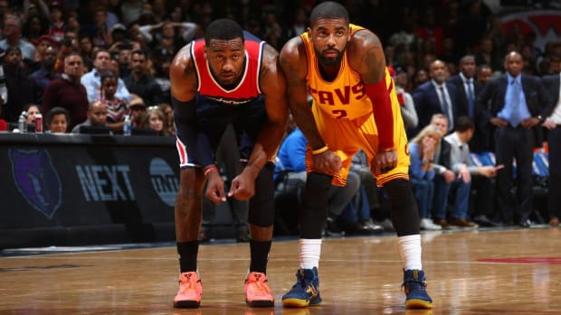 John Wall on Kyrie Irving's Trade Request: 'That was Crazy to Me' - IMAGE
