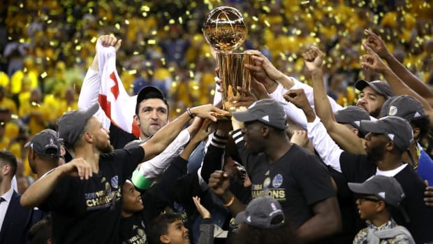 Dubs dynasty kicks off with second championship--IMAGE