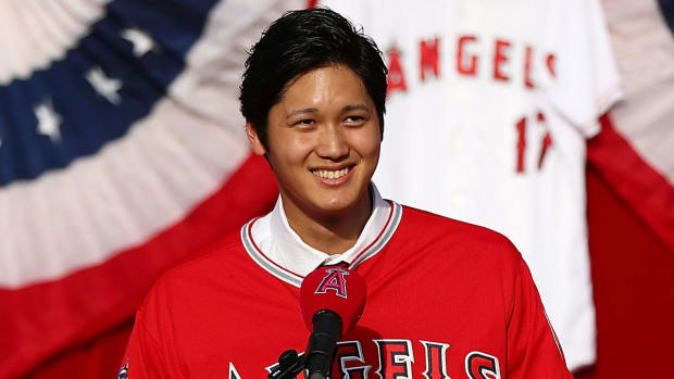 Report: New Angel Shohei Ohtani Has a Damaged UCL in Pitching Elbow - IMAGE