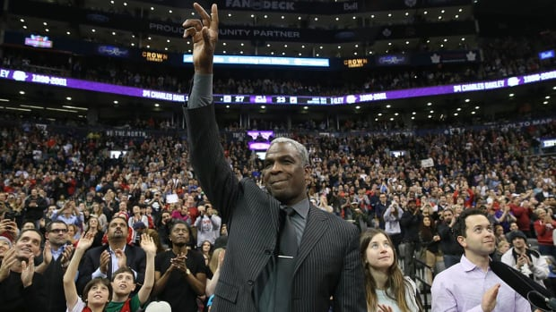 Report: Charles Oakley's Madison Square Garden ban lifted - IMAGE