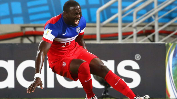 Jozy Altidore (hamstring) out 6-8 weeks, will miss Copa America--IMAGE