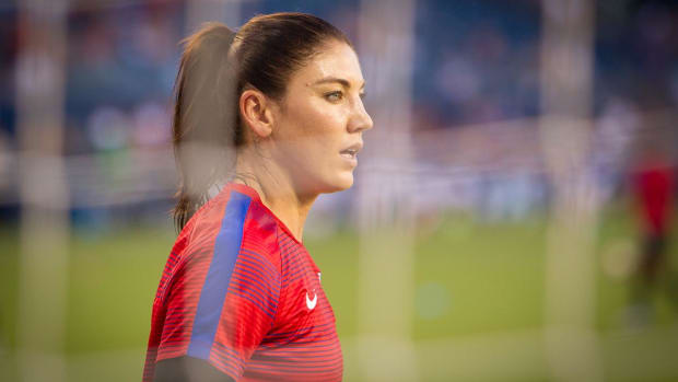 U.S. Soccer suspends Hope Solo for six months for Olympics remarks - IMAGE