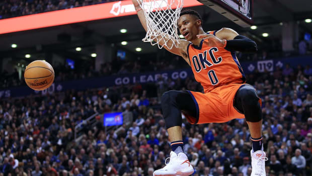 Russell Westbrook posts 7th triple-double this month--IMAGE