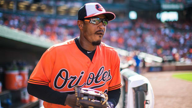 Orioles' Adam Jones explains lack of MLB protest -- IMAGE