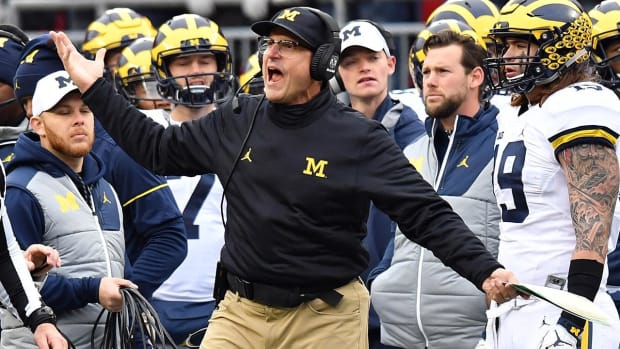 Big Ten fines Michigan for Jim Harbaugh's criticizing of officials - IMAGE