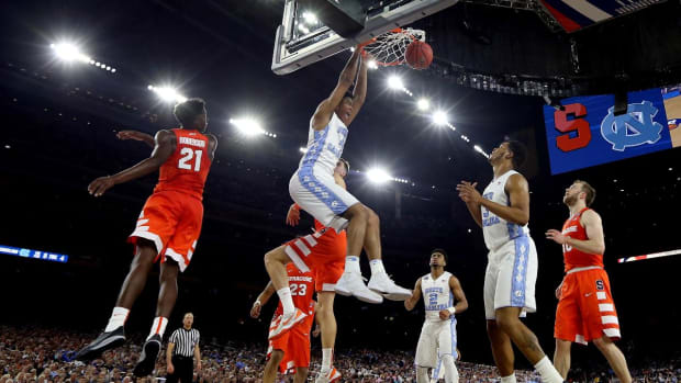 North Carolina advances to national title game with 83-66 win over Syracuse -- IMAGE