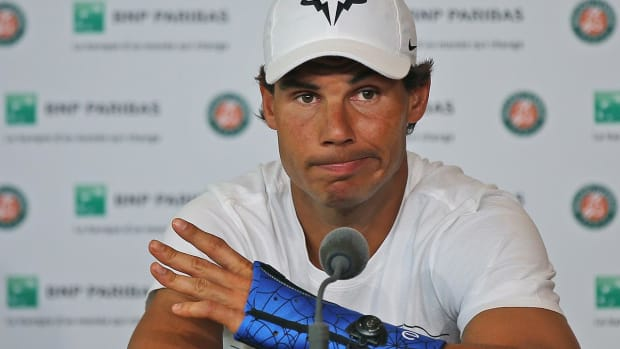 Rafael Nadal pulls out of French Open with wrist injury -- IMAGE