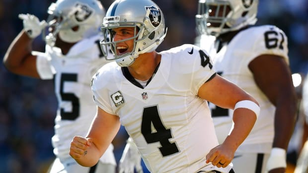 The MMQB Spotlight: Derek Carr IMAGE