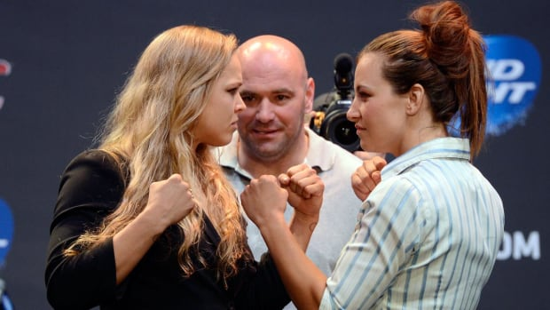 Miesha Tate: Ronda Rousey is too focused on having baby - IMAGE