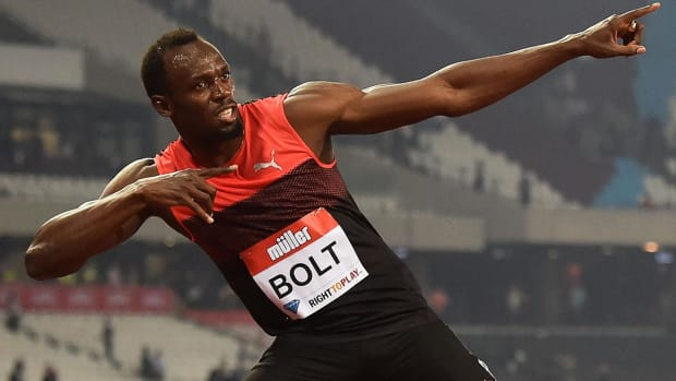 Usain Bolt wins first race after injury scare - IMAGE