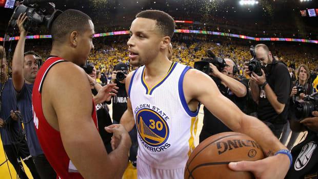 Thunder or Spurs? Warriors face tough 'coin flip' -- IMAGE