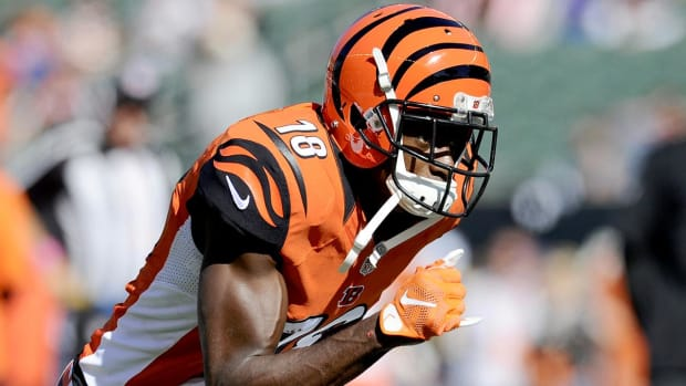 Bengals WR A.J. Green says he will play Saturday vs. Texans - IMAGE