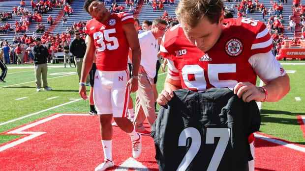 Nebraska's Spencer Lindsay lost two best friends in three years. What remains is the precious, incommunicable past.