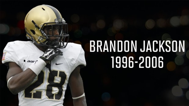 Army cornerback Brandon Jackson killed in single-car crash - IMAGE