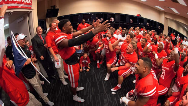 'They're all going to know my name now': A week inside the walls with Houston as it prepared to stun Oklahoma