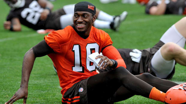 Browns will give Robert Griffin III majority of first-team reps - IMAGE