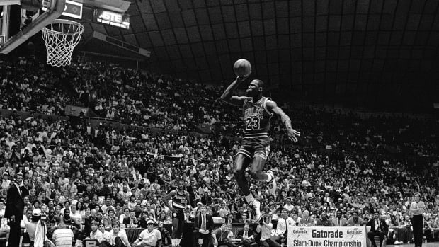 History of the NBA Slam Dunk Contest  -- IMAGE