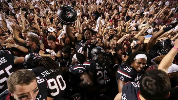 A field storming, a banning, and a fake mustache: South Carolina student Will Mackey has a story to tell