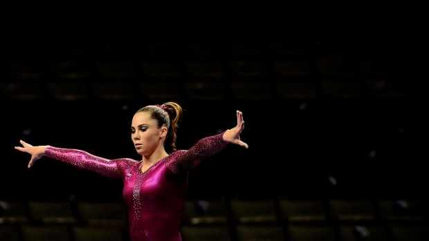 Gold medalist McKayla Maroney retires from gymnastics -- IMAGE