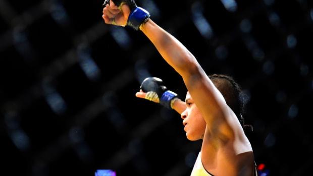 Amanda Nunes pre-UFC 200