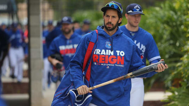 Blue Jays' Chris Colabello suspended 80 games for PED violation -- IMAGE