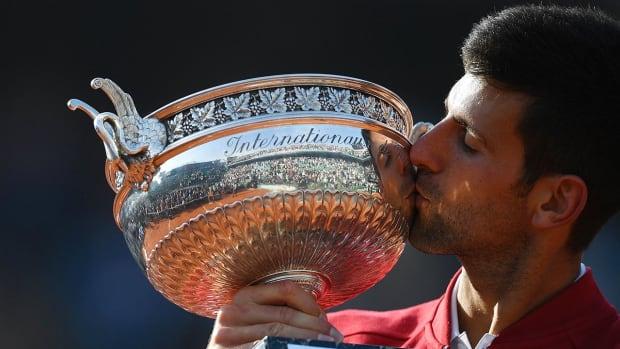 Novak Djokovic wins French Open, completing career Grand Slam--IMAGE