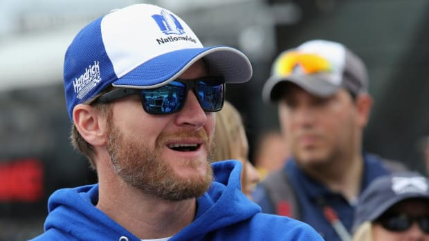 Dale Earnhardt Jr. got busted for speeding - IMAGE